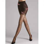 Wolford Synergy Push-up Panty 20 Denier Nearly Black