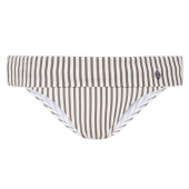 Beachlife Taupe Stripe Vouwbroekje