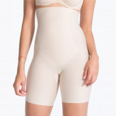Spanx Thinstincts Targeted High-Waisted Short Softnude