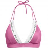 Calvin Klein Triangle Bikinitop Phlox Pink