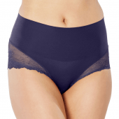 Sapnx Undie-tectable Lace Hipster Midnight Navy
