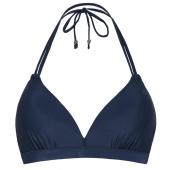Beachlife Black Iris Voorgevormde Triangle Bikinitop Donkerblauw