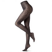 Oroblu Wild Net Fashion Panty Black Animalier