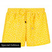 Beachlife Yellow Dot Shortje